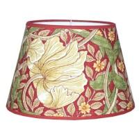 Lampskärm William Morris - Pimpernel Röd Oval 25