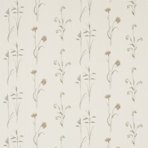 Tyg Sanderson - Meadow Grass Embroidery - Tyg Sanderson - Meadow Grass Embroidery Sage