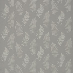 Tyg Sanderson - Fern Embroidery - Tyg Sanderson - Fern Embroidery Pebble