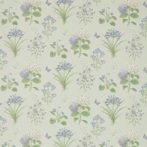 Tyg Sanderson - Harebells & Violets - Tyg Sanderson - Harebells & Violets Sky Blue