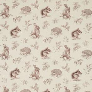 Tyg Sanderson - Squirrel & Hedgehog - Tyg Sanderson - Sqiurrel & Hedgehog Walnut