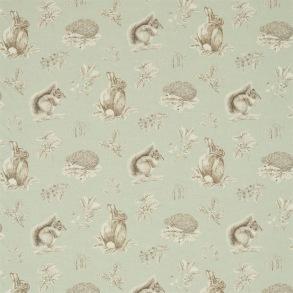 Tyg Sanderson - Squirrel & Hedgehog - Tyg Sanderson - Sqiurrel & Hedgehog Charcoal