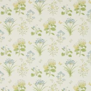 Tyg Sanderson - Harebells & Violets - Tyg Sanderson - Harebells & Violets Lemon