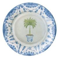 Papperstallrik - Caspari Potted Palms