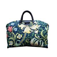 Väska William Morris - Golden Lily Mörkblå