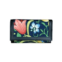 Plånbok William Morris - Golden Lily Mörkblå