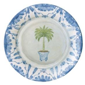 Papperstallrik - Caspari Potted Palms - Papperstallrik - Caspari Potted Palms Mattallrik