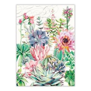 Kökshandduk - Michel Design Works Pink Cactus - Kökshandduk - Michel Design Works Pink Cactus