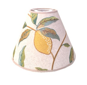 Lampskärm William Morris - Lemon Tree Toppring - Lampskärm William Morris - Lemon Tree med Toppring 19