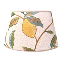 Lampskärm William Morris - Lemon Tree Oval 25