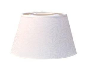 Lampskärm William Morris - Willow Bough Minor Vit Oval 25