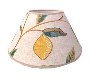 Lampskärm William Morris - Lemon Tree Rund 25