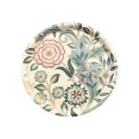 Rund bricka 31 William Morris - Wilhelmina Vit