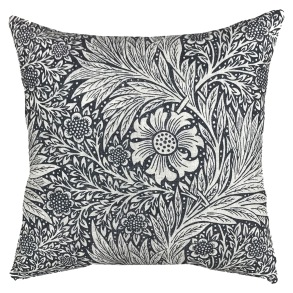 Kudde William Morris Pure - Marigold Svart