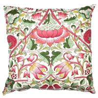 Kudde William Morris - Lodden Rosa