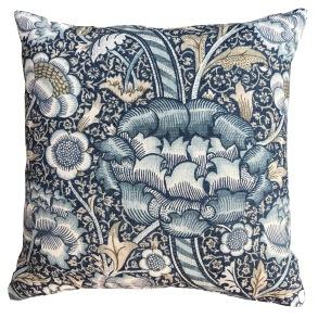 Kudde William Morris - Wandle Blå
