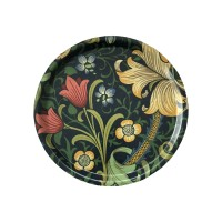 Rund 31 bricka William Morris - Golden Lily