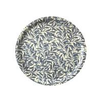 Rund bricka 31 William Morris - Willow Bough Minor Blå