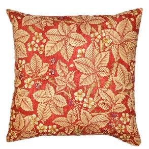 Kudde William Morris - Bramble Röd