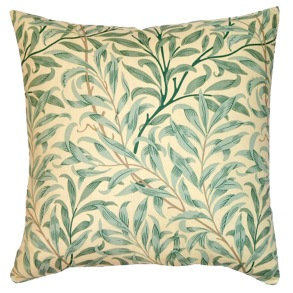 Kudde William Morris - Willow Bough Grön