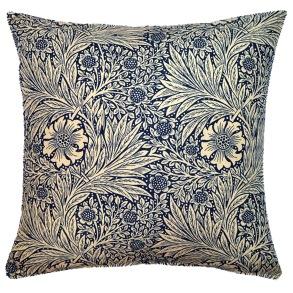 Kudde William Morris - Marigold Blå