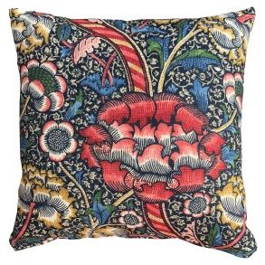 Kudde William Morris - Wandle Röd