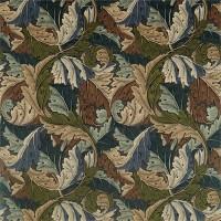 Tyg William Morris - Acantus Velvet Slate Blue Thyme