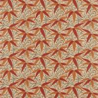 Tyg William Morris - Bamboo Russet Siena