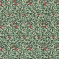 Tyg William Morris - Arbutus Dark Green