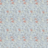 Tyg William Morris - Arbutus Bule Multi