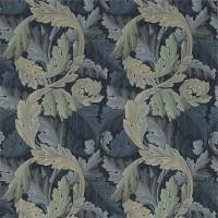 Tyg William Morris - Acantus Tapestry Indigo Mineral