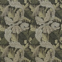 Tyg William Morris - Acantus Tapestry Forest Hemp