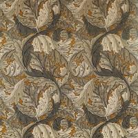 Tyg William Morris - Acantus Velvet Mustard Grey