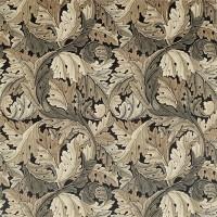 Tyg William Morris - Acantus Velvet Slate Charcoal Grey