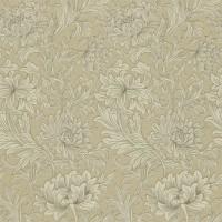 Tapet William Morris - Chrysanthemum Toile Ivory/ Gold