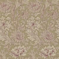 Tapet William Morris - Chrysanthemum Toile Grape/ Bronze