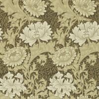 Tapet William Morris - Chrysanthemum Bullrush