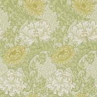 Tapet William Morris - Chrysanthemum Pale Olive