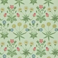 Tapet William Morris - Daisy Pale Green/ Rose