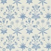 Tapet William Morris - Daisy Blue/ Ivory
