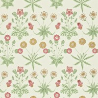 Tapet William Morris - Daisy Willow/ Pink