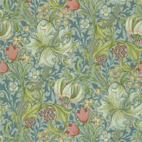 Tapet William Morris - Golden Lily Mineral