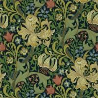 Tapet William Morris - Golden Lily Indigo
