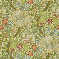 Tapet William Morris - Golden Lily Pale Biscuit