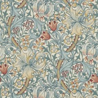Tapet William Morris - Golden Lily Slate Manilla