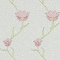 Tapet William Morris - Garden Tulip Porceline Pink