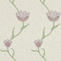 Tapet William Morris - Garden Tulip Artichoke