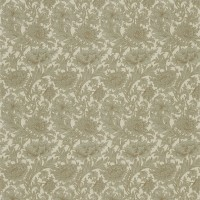 Tyg William Morris - Chrysantemum Slate Cream