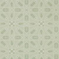 Tapet William Morris - Brophy Trellis Sage Linen
