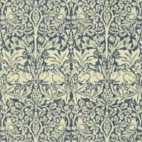 Tapet William Morris - Brer Rabbit Indigo/ Vellum